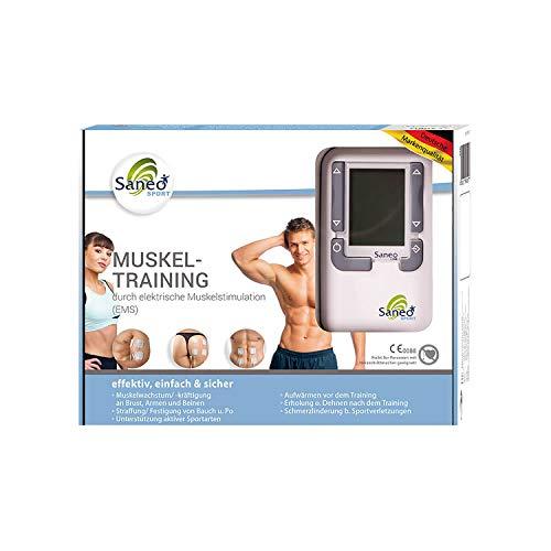 SaneoSPORT Muskeltraining elektrischer EMS TENS...