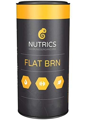 Nutrics FLATBRN 90 Kapseln I 100% Vegane Kombination I Made...