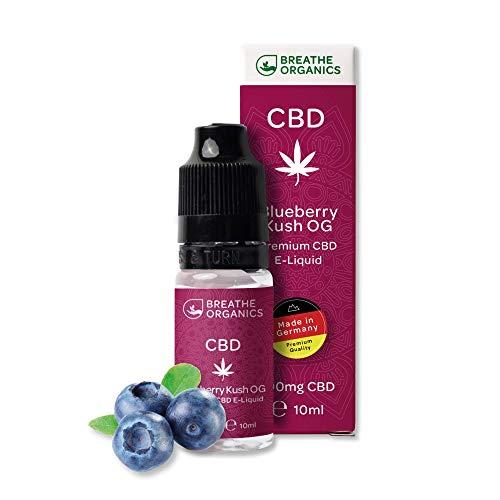 Premium CBD Liquid Blueberry Kush von Breathe Organics® | E...