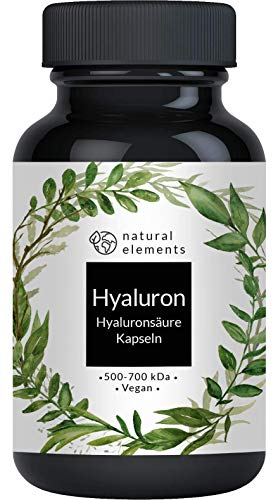 Hyaluronsäure Kapseln - Hochdosiert mit 500mg - 500-700 kDa...