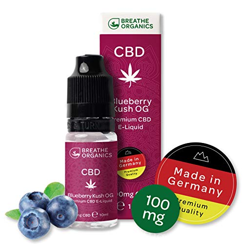 Premium CBD Liquid Blueberry Kush von Breathe Organics | E...