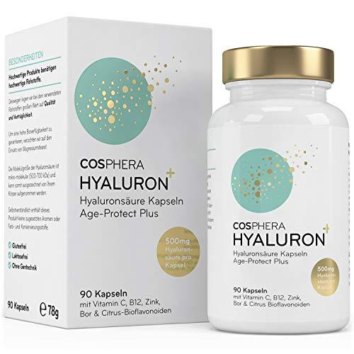 Hyaluronsäure Kapseln - Hochdosiert mit 500 mg pro Kapsel....