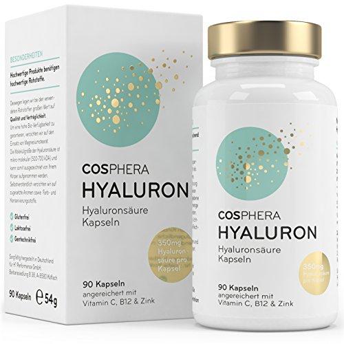 Hyaluronsäure Kapseln - Hochdosiert mit 395 mg pro Kapsel....