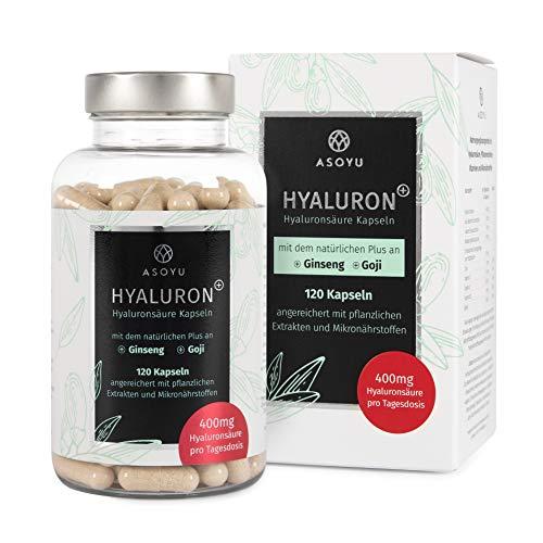 ASOYU® 120 Hyaluronsäure Kapseln mit dem natürlichen Plus...