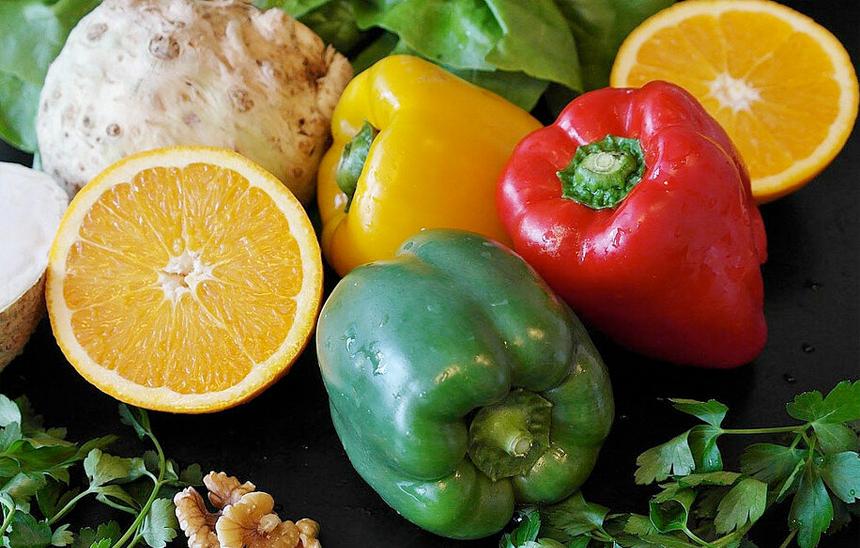 Paleo Diät: Salat-Paprika