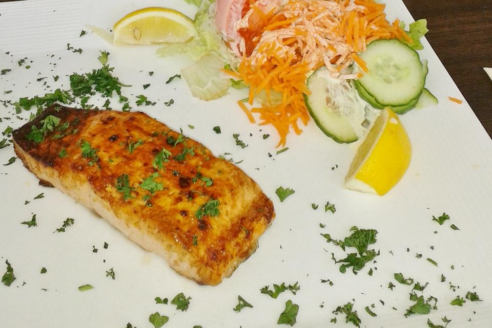 Fisch: Seelachs mit Zitrone